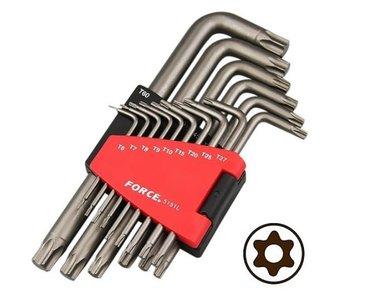 Haakse Resistorx sleutelset lang 15 delig