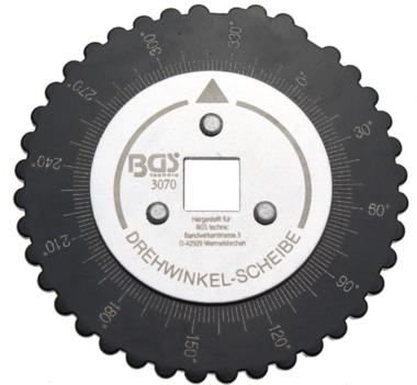 Hoekmeter voor hoekkoppel 12,5 mm (1/2) aandrijving
