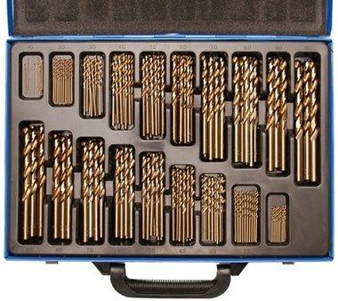 Twist boren Set HSS 5% cobalt alloy 1 - 10 mm 170 delig