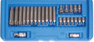 Bit Set | 10 mm (3/8) drive | Torx tamperproof (voor Torx) | 26 delig