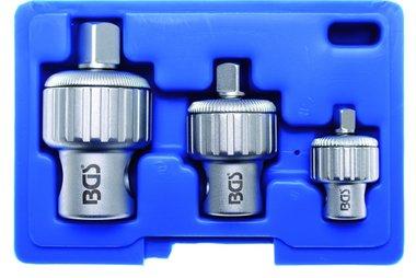 3-piece Ratchet Adapter verloop set