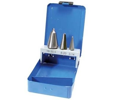 Taper Cutter Set HSS 3 Sizes 3 delig