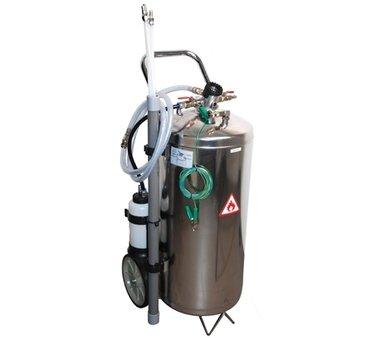Pneumatische brandstofzuiginrichting 40 liter