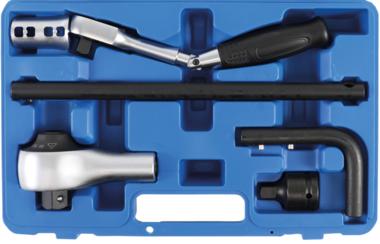 Koppelvermenigvulderset 12,5 mm (1/2) + 20 mm (3/4) 6-delig