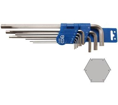 Speciale L-Type Sleutel Set   interne zeshoek 1,5 - 10 mm   9 delig