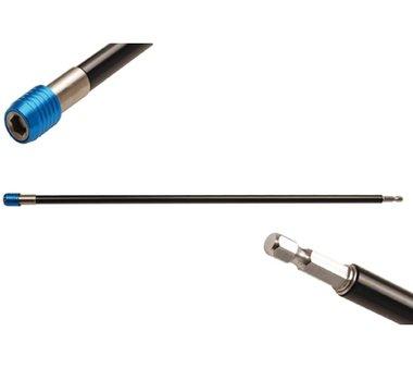 Automatische bithouder | binnenzeskant 6,3 mm (1/4), 450 mm