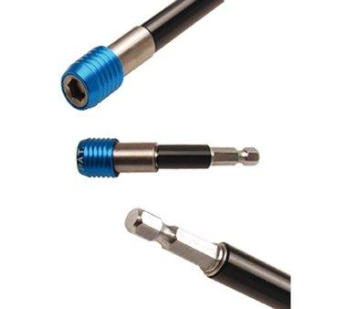 Automatische bithouder binnenzeskant 6,3 mm (1/4), 80 mm