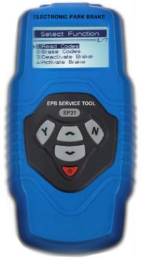 Elektronische remterugstel- en diagnoseset EPB / SBC