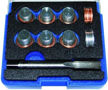 Reparatieset voor olieaftap schroefdraad M14 x 1,25, 25-delig