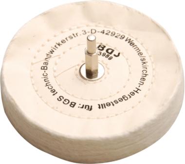 Polijstschijf met doorn 6 mm