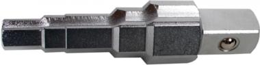 Radiatorsleutel 1/2, 5 stappen, inchmaten