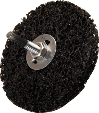 Slijpschijf zwart diameter 100 mm 16 mm bevestigingsgat