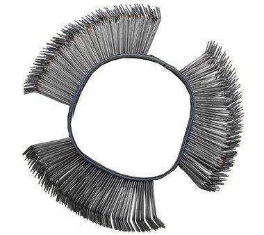 Draadborstel gebogen diameter 103 x 23 x 0.7 mm