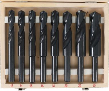 HSS boren Set 13 - 25 mm 8 delig
