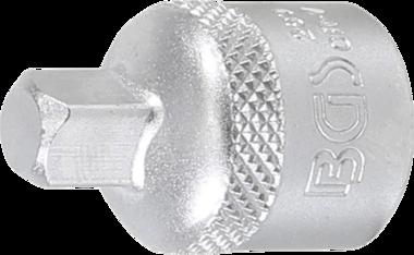 Dopsleuteladapter 10 mm (3/8) - 6,3 mm (1/4)