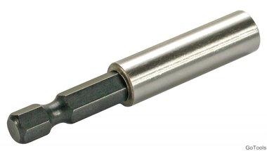 Bithouder, magnetisch 1/4, 60 mm