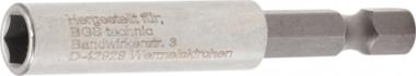 Magnetische bithouder, extra sterk 6,3 mm (1/4) zeskant 60 mm