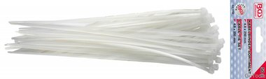 Kabelbinder, wit 4,8x250 mm 50 stuks