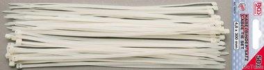50-delige cable tie set, 4,8 x 300 mm