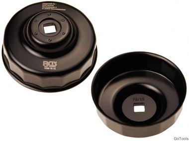 Oliefiltersleutel 15-kant diameter 78 mm voor Ford, Nissan, Toyota