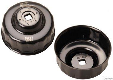 Oliefiltersleutel 15-kant diameter 75 - 77 mm voor Audi, Ford, Isuzu, Mercedes-Benz, Opel, VW
