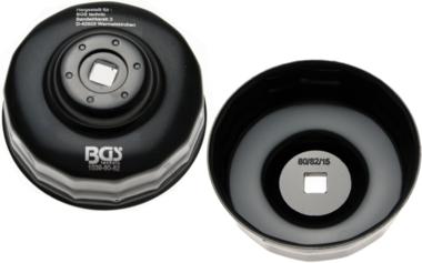 Oliefiltersleutel 15-kant diameter 80 - 82 mm