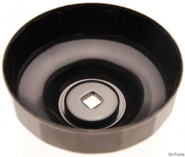 Oliefiltersleutel 18-kant diameter 96 mm voor Renault, VW