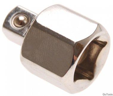Dopsleuteladapter 12,5 mm (1/2) - 10 mm (3/8)