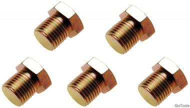 Olie aftapschroeven voor BGS-126 M15 x 1,5 mm 5-delig