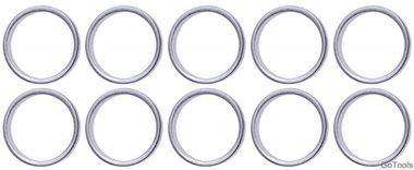 Assortiment afdichtringen voor BGS-126 diameter 20 / 23,5 mm 20-delig
