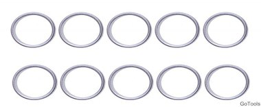 Assortiment afdichtringen voor BGS 126 diameter 15 / 18,5 mm 20-delig