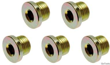 Olie aftapschroeven voor BGS-126 M20 x 1,5 mm 5-delig