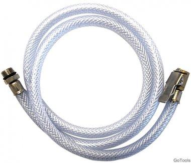 Spare slang met adapter voor air inflators, 100 cm