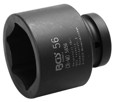 1 Inch Duim krachtdop 56 mm 6kant