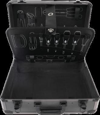 Leeg aluminium koffer voor Gereedschap set BGS-15501