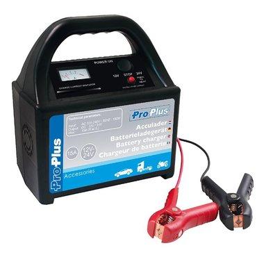 Acculader 12V/24V 15Amp.
