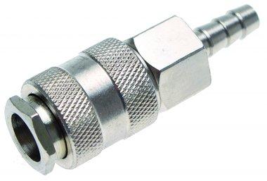 Snelkoppeling met 8 mm slang Aansluiting