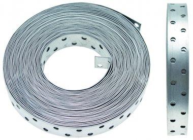 Geperforeerde montage band 20 mm, 10 m Rol