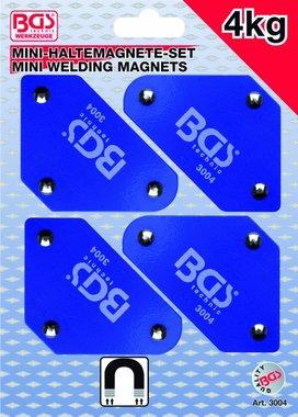 4-delige Mini-Magnetic Holder Set, 45° -90° -135°