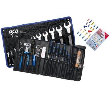 17-delige Tool Assortiment in Wallet