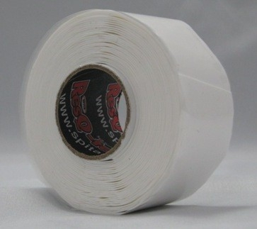 Resq-tape Wit - transparant  25mm x 3,65M