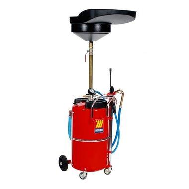 Professionele olie opvang/afzuig unit 90 liter