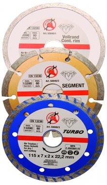 3-delige Diamant Disc Set
