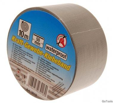 DUCT tape, 50 mm x 10 m, zilvergrijs