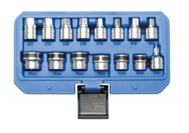 15-delige magnetische Sockets voor Oil Drain Schroeven