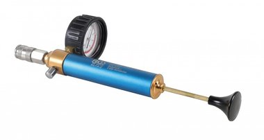Afperspomp met manometer voor BGS 8514