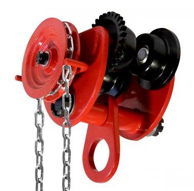 Loopkat 2 ton met kettingaandrijving voor takels