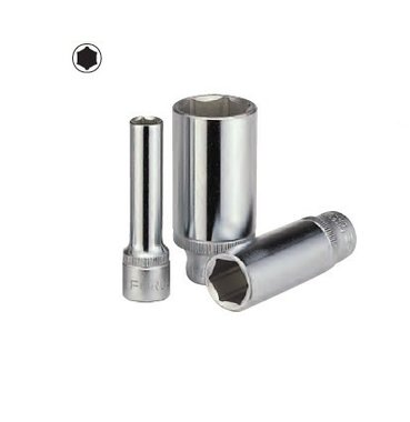 Doppen lang 3/8 (6-kant) 15mm