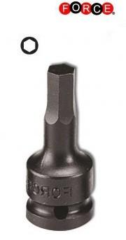 Kracht bit doppen Inbus 3/8 (uit een stuk) 4mm