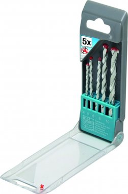5-delige Stone Drill Set, 4-10 mm